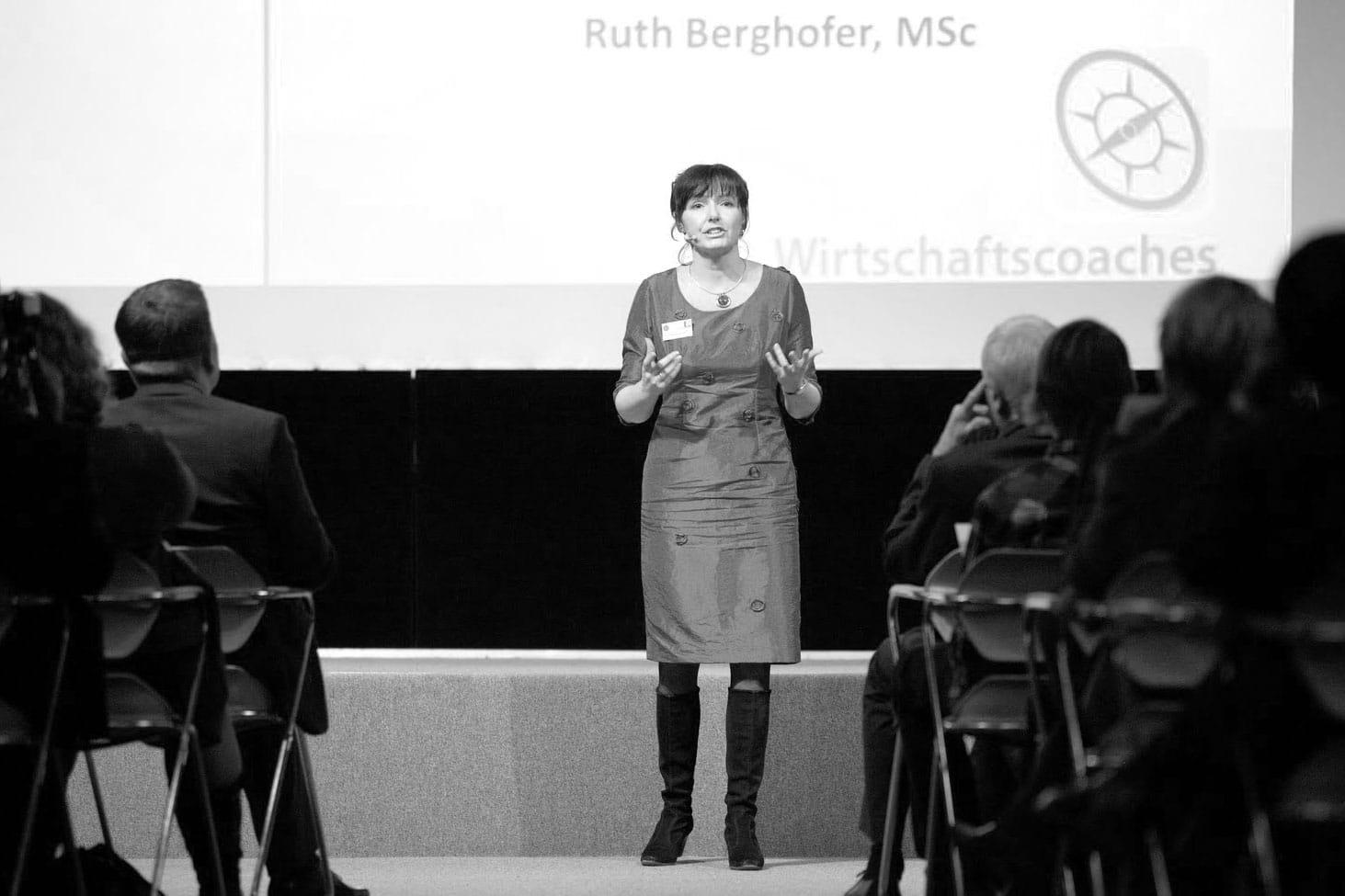 Vortrag Ruth Berghofer Wirtschaftscoaches