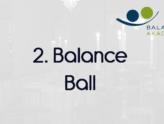 2. Balance Ball